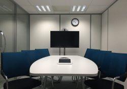 Audiovisuell teknik förbättrar presentationerna